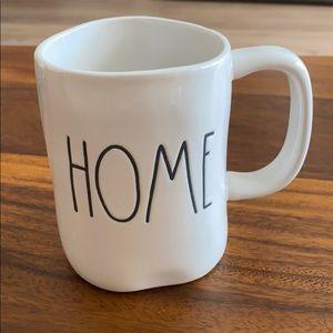 """2/$15 Rae Dunn """"Home"""" mug"""